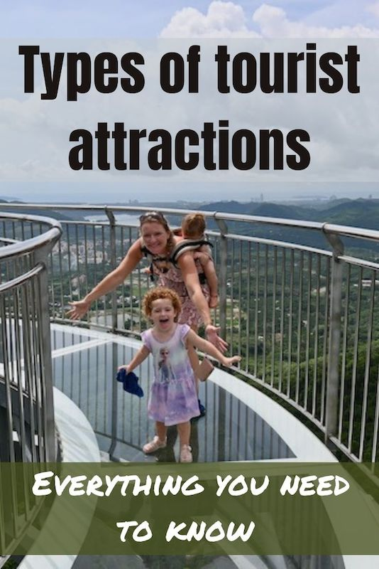 types of tourist attractions