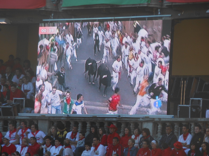 history of the running of the bulls