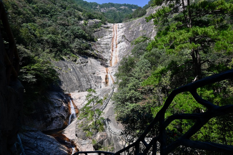 9 dragons waterfall The Yellow Mountains
