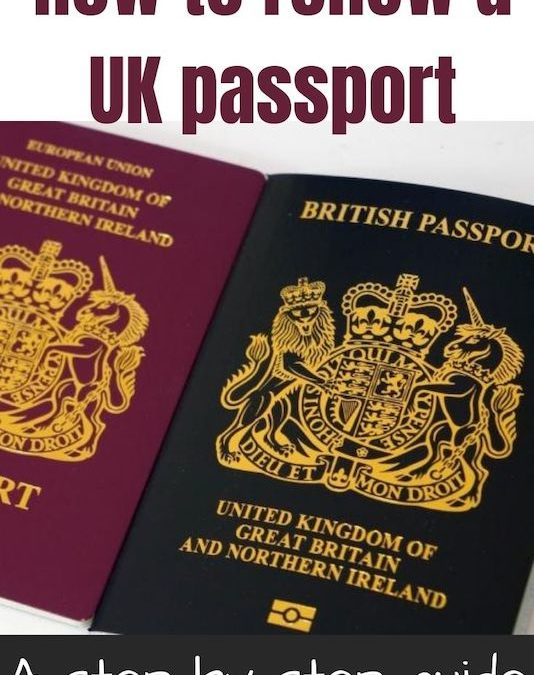 How to renew a UK passport | A step by step guide
