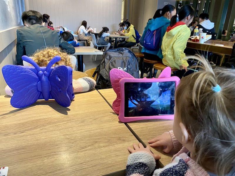 China with kids